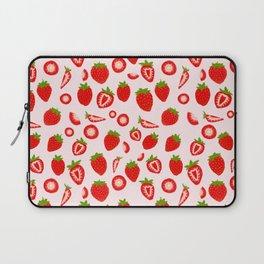 Strawberry milk kawaii Laptop Sleeve
