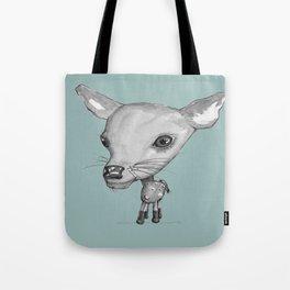 NORDIC ANIMAL - DEDE THE DEER  / ORIGINAL DANISH DESIGN bykazandholly  Tote Bag
