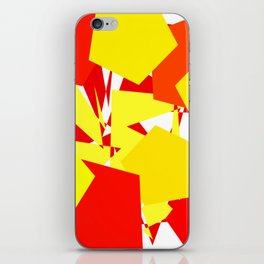 Brave Red iPhone Skin