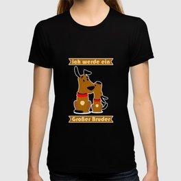 Kinder Großer Bruder Geschenkidee Hund Hündchen T-shirt
