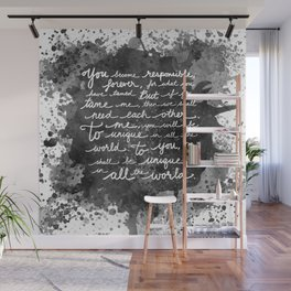 If We Tame Each Other Wall Mural