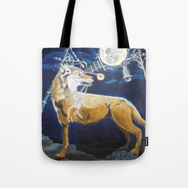 Wolf Mouth Tote Bag