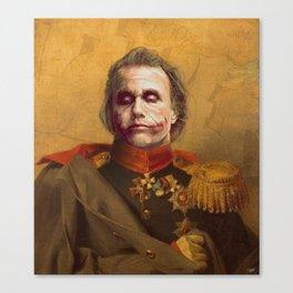 The Joker General Portrait | Fan Art (Personal Favorite) Canvas Print