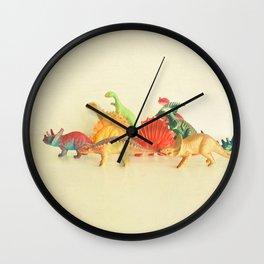 Walking With Dinosaurs Wall Clock