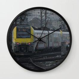 Brussels departure Wall Clock