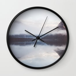 Wake up - Landscape and Nature Photography Wall Clock