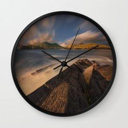 Symphony Of Natural Beauty Wall Clock