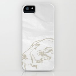 Pale Skull iPhone Case