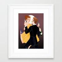 valentines Framed Art Prints featuring Valentines by Jon Suguiyama
