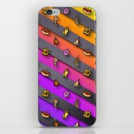 Lil Food Rain iPhone Skin