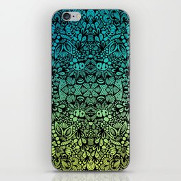 Zentangle - Zenspire  iPhone Skin
