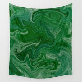 Malachite Marble Wall Tapestry