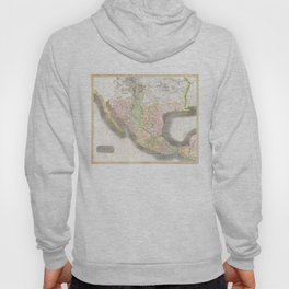 Vintage Map of Mexico (1814) Hoody
