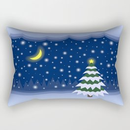 Christmas fairytale Rectangular Pillow