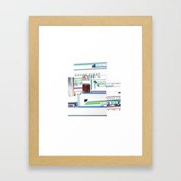 N,ASTY Framed Art Print