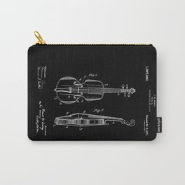 Violin Patent Carry-All Pouch