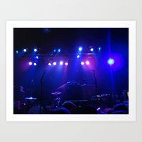 concert Art Prints featuring Concert by Sarah Sugarman