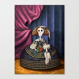 Menina Catrina Canvas Print