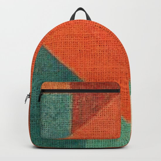 Simple Square Backpack