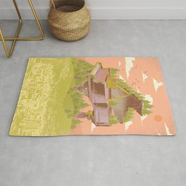 FOREST PIANO Rug