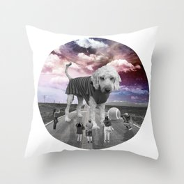 Jasper The Giant! Throw Pillow