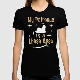 My Patronus Is A Lhasa Apso Dog  T-shirt