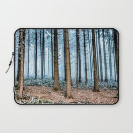 Snow Covered Forest Laptop Sleeve