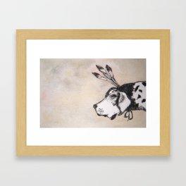 HoundDog Framed Art Print
