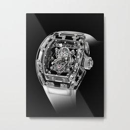 Luxury Richard Mille Tourbillon RM 56-02 Sapphire  Metal Print