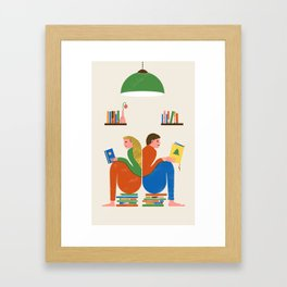READERS Framed Art Print