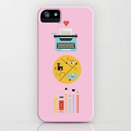 Superminimaps iPhone Case