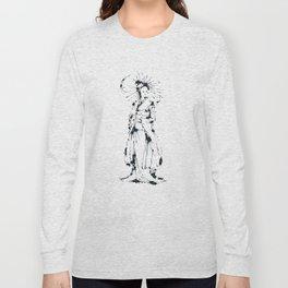 Splaaash Series - Kimono Girl Ink Long Sleeve T-shirt