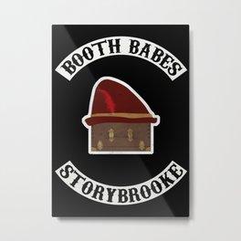 Booth Babes (Fake Motorcycle Club) Metal Print