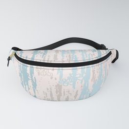 Blue Colors Gradient pattern. pastel, modern, decor,  Society6 Fanny Pack