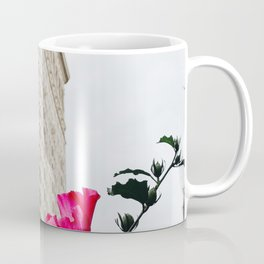 Pink Flowers in New York City (Color) Coffee Mug