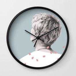 Sakura Man Wall Clock