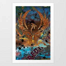 Rebirth of the Phoenix Art Print