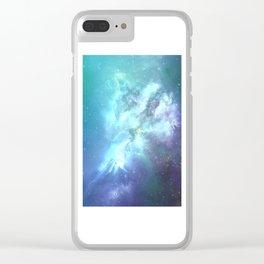 Endless ocean Clear iPhone Case