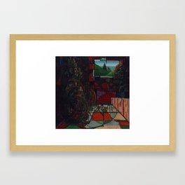 Installation 1 Framed Art Print