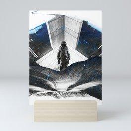 Astronaut Isolation Mini Art Print