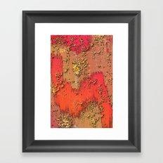 Behind the Walls Framed Art Print