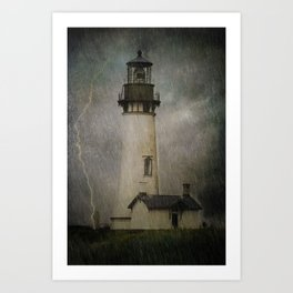 Late Afternoon Storm Art Print