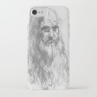 leonardo iPhone & iPod Cases featuring Leonardo by Kathryn Gabrielle Mauno