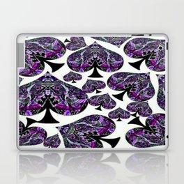 Whiteout Crazy Spades Collage Laptop & iPad Skin