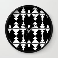 geo Wall Clocks featuring geo by BruxaMagica_susycosta