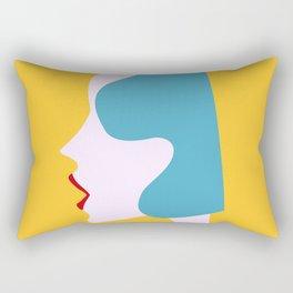 Sunny girl Rectangular Pillow