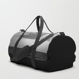 Evening clouds over the sea Duffle Bag
