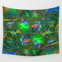 destiny Wall Tapestries featuring Tangled Destiny  by BohemianBound