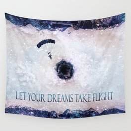Let Your Dreams Take Flight Wall Tapestry