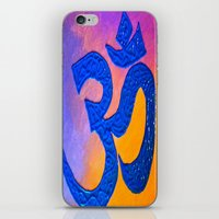 ohm iPhone & iPod Skins featuring Ohm by KD Ives